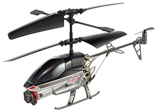 Silverlit Spy Cam-2 - Elicottero radiocomandato, 3 canali, 2,4 GHz, dotato di videocamera, colori assortiti