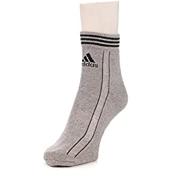 Adidas Half Cushion Quarter Socks, Pack of 3