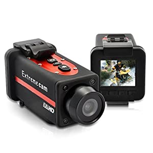 BW® Crocolis HD - 1080P Full HD Extreme Sports Action Camera with 1.5 inch Preview Screen(Waterproof IP68 HDMI output)