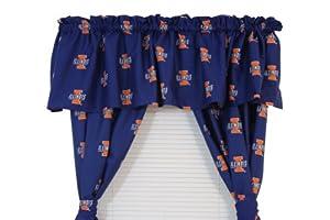 Buy Illinois Fightin Illini - Collegiate Curtain Panels by College Covers