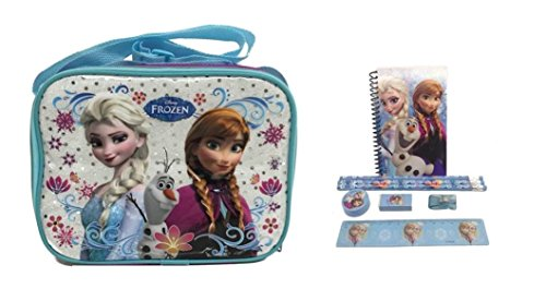 4everStore Disney Frozen Lunch Bag and Stationary Set - 1