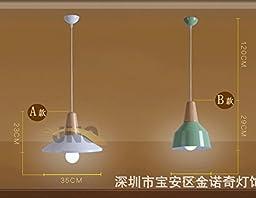 Iron wood chandeliers b Green