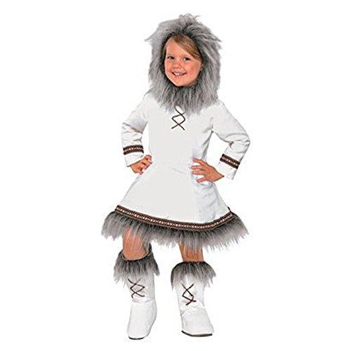[Eskimo Princess Halloween Costume for Toddler Girls 2T - 3T] (Kid Eskimo Costume)