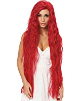 Fantasy Maiden Hot Red Wig