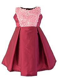 Faye Textured Fuchsia Ceremony Dress 7-8 Y