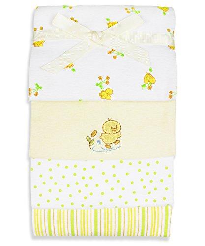 SpaSilk Unisex Baby Flannel Blanket - 1