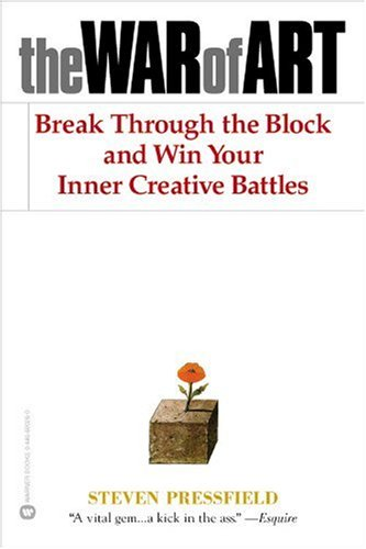 Cover of &quot;The War of Art: Break Through t...
