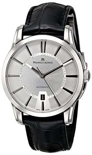 Maurice Lacroix Men'S Pt6148-Ss001-130 Pontos Analog Display Swiss Automatic Black Watch