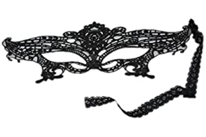 Pixnor® Sexy Girl Lace Eye Mask for Masquerade Party Fancy Dress Black by Pixnor