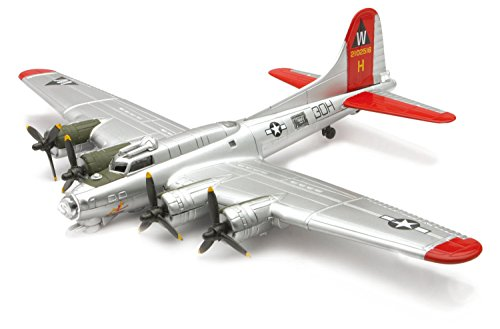 B-17 Flying Fortress Model Plane Kit (Assembly Required)
