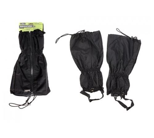Pair Of Black Waterproof Walking / Hiking Boot Gaiters