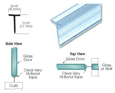 CRL Translucent Shower Door Vinyl