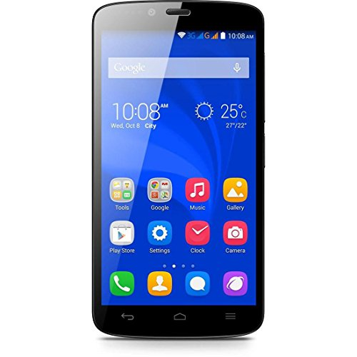 Honor Holly Smartphone (12,7 cm (5 Zoll) Touch-Display, 16 GB Speicher, Android 4.4) schwarz/weiß