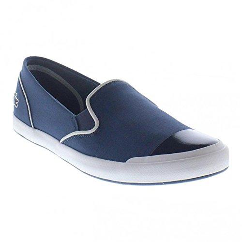 Lacoste Women's Lancelle 316 Slip on Shoes, Blue, 6