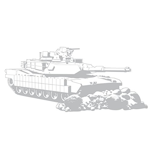Sudden Shadows Military Tank Giant Wall Applique (48.5 X 21.5)