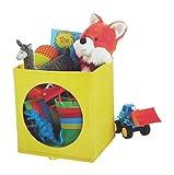 "Circo Fabric Cube Organizers 11' x 10.5"" x 10.5 "" (Yellow)"