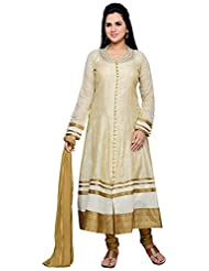Roopali Creations Women's Chanderi Silk Salwar Suit Set - B013SVN43C