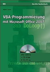 VBA-Programmierung mit Microsoft Office 2007 (bhv Taschenbuch)