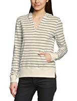 Marc O'Polo Women Hooded Long - regular Sweater