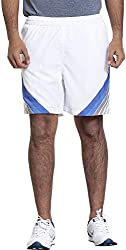 Seven Men's Polyester Shorts (SS16APPM014-1, White, XL)