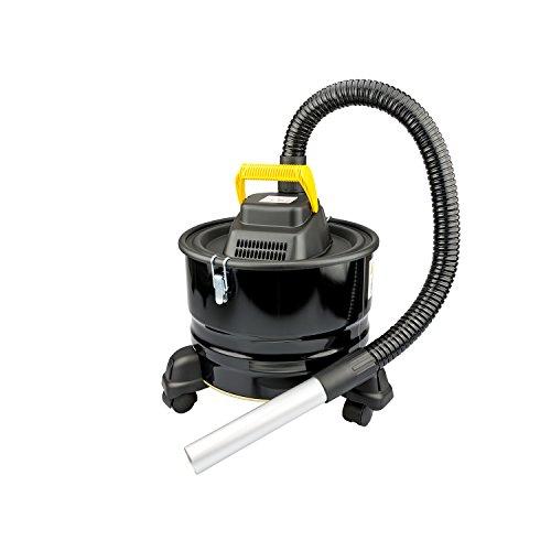 Aspiracenere Elettrico Aspira Cenere con Ruote 16L 800W Nero - Sinotech