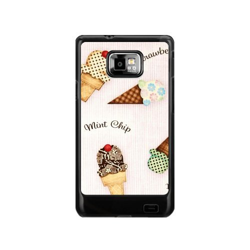 Best  Ice Cream Case All Flavours Of Ice Cream Sandwich Samsung Galaxy S2 I9100 Case Cover Unque Comes in Case(Not Fit T-mobile and Sprint Version)