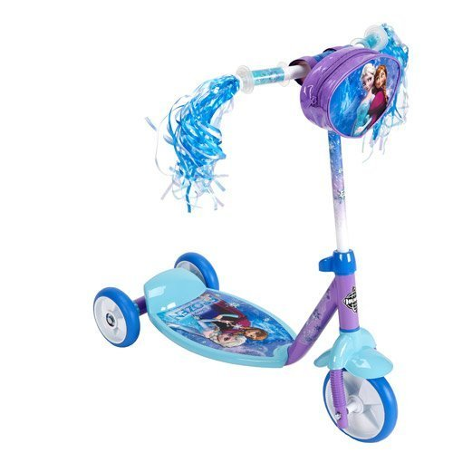 My New Disney Frozen Preschool 3-wheel Kick Scooter - Huffy