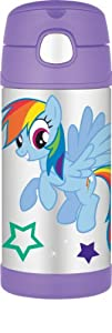 Thermos Funtainer Bottle, 12-Ounce, My Little Pony