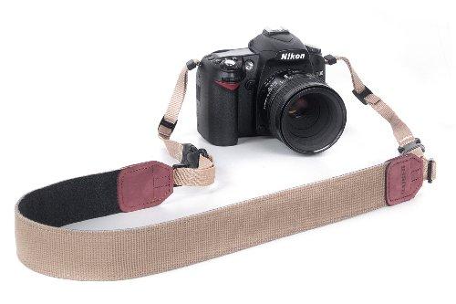 Kaiser Adventure Kamera-Tragegurt (Länge max. 145 cm, Breite 38mm) khaki