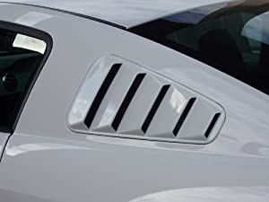 05 06 07 08 09 2005 2006 2007 2008 2009 Ford Mustang Window Louvers Painted Lime Gold Paint Code P1