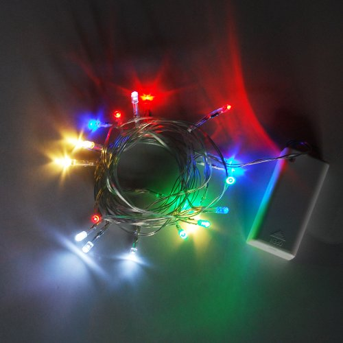 Battery 20 Multi Color LED Christmas Party String Light