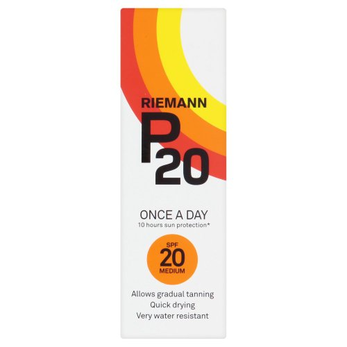 Riemann P20 Once a Day 10 Hours Protection SPF 20 Medium 100 ml