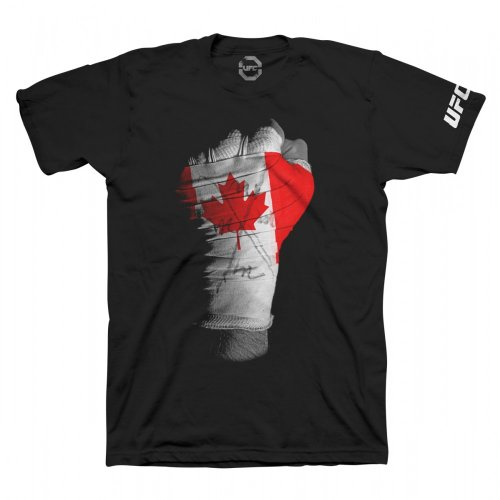 UFC Canada Fist T-Shirt - Black