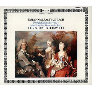 Johann Sebastian Bach: French Suites - Christopher Hogwood, Harpsichord