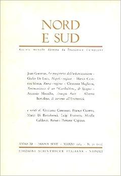 Nord e Sud. Marzo 1964 - N. 51 (112): NORD E SUD. Rivista