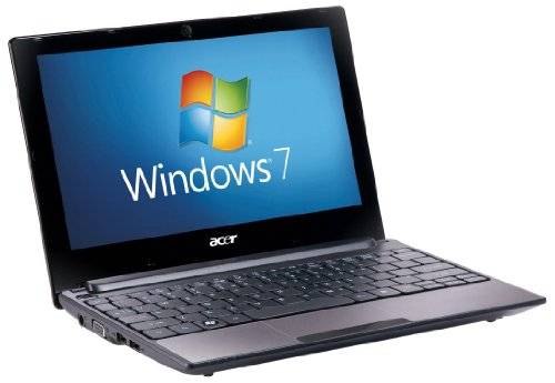 Acer Aspire One D255E 10.1 inch Netbook (Intel Atom Dual Core N550 Processor, 1 GB RAM , 250 GB HDD, BT 3.0,  Windows 7 Starter, 8 hours battery life) - Brown