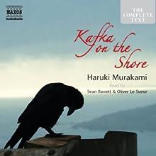 Kafka on the Shore Audiobook by Haruki Murakami Narrated by Sean Barrett, Oliver Le Sueur