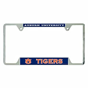 NCAA Auburn Tigers Metal License Plate Frame