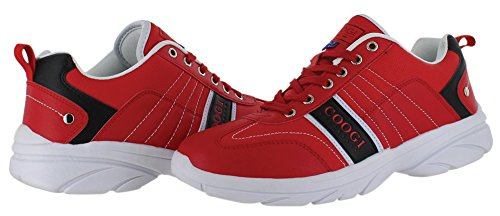 Coogi Chambers Men's Athletic Shoes Casual Sneakers Red Size 9.5