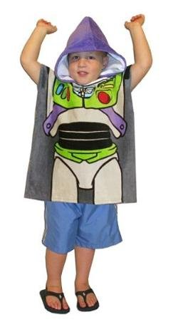 Toy Story 3 Hooded Poncho Towel - Woody or Buzz Lightyear - 20 x 42 inches