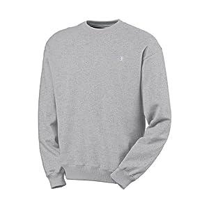 Champion Men's Pullover Eco Fleece Sweatshirt, Oxford Gray, Large