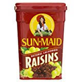 Sunmaid Raisin Can 500g.