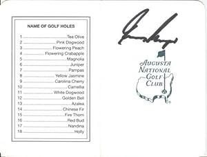 Gary Player Autographed Masters Augusta National Golf Club Scorecard - 1961, 1974,... by PalmBeachAutographs.com