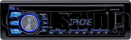 Pioneer DEH-X4700BT Single-Din In-Dash CD Receiver with Mixtrax, Bluetooth, Siri Eyes Free, USB, Pandora Ready & Android Music Support