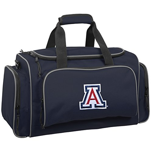 wallybags-arizona-wildcats-21-inch-collegiate-duffel-navy-one-size