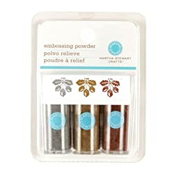 Martha Stewart Crafts Essentials Embossing Powder Metallic By The Package