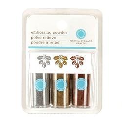Martha Stewart Crafts Essentials Embossing Powder Metallic By The Package