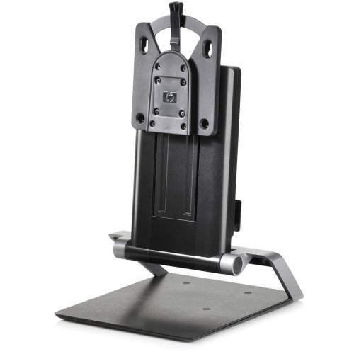 "Brand New Hewlett-Packard - Hp Computer Stand - 17"" To 24"" Screen Support - 11.02 Lb Load Capacity - Lcd Display Type Supported - 10.8"" Height X 16.2"" Width X 10.2"" Depth - Desktop - Black ""Product Category: Accessories/Stands & Cabinets"""