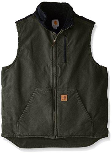 carhartt-mens-sherpa-lined-sandstone-mock-neck-vest-v33moss-blackmedium
