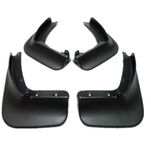 Moonet Front Rear Mud Flaps Splash Guards Fit for 2013 2014 2015 Volkswagen VW Beetle Black 4pcs (Vw Beetle Mud Flaps compare prices)